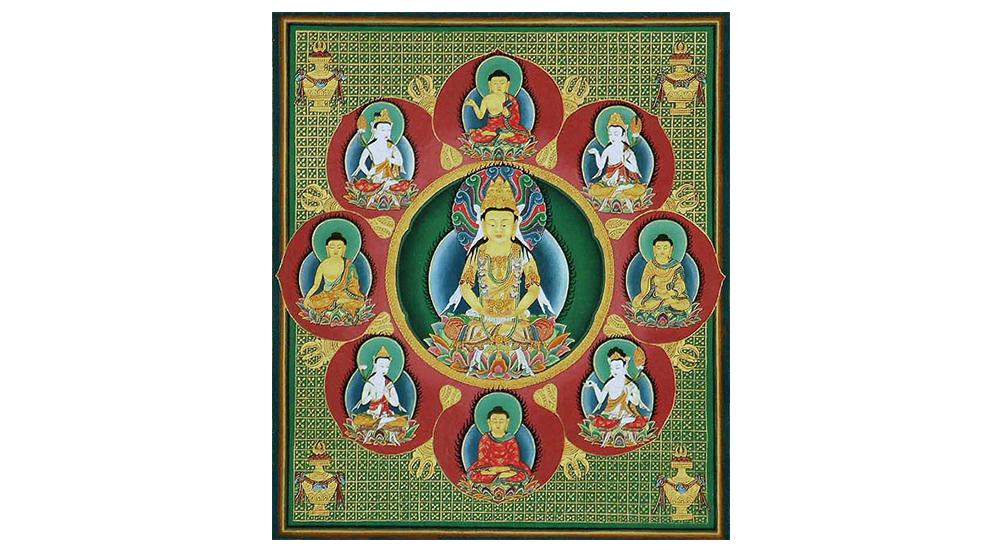 如来の梵字とご利益 12尊 一覧 - 梵字の画像と読み方付