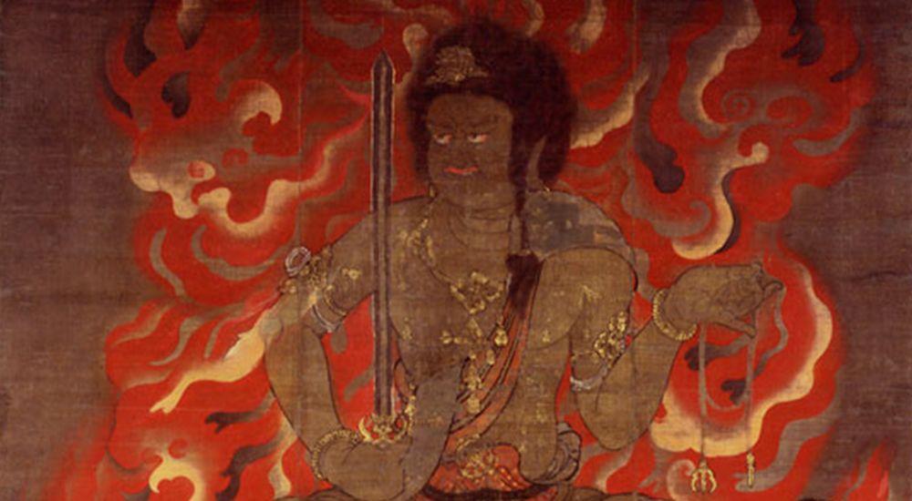 明王の梵字とご利益、真言 全8尊 一覧 - 梵字の画像と読み方付